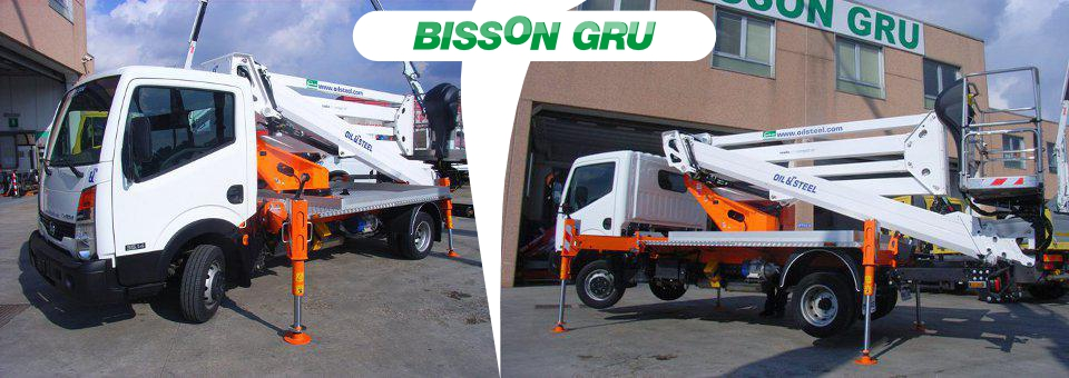 Bissongru.it-Autocarri con gru,gru e movimentazione terra